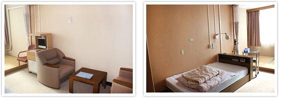 当院の睡眠医療センターの中にある、専用の個室で行います。